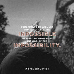 The God of the Impossibilities