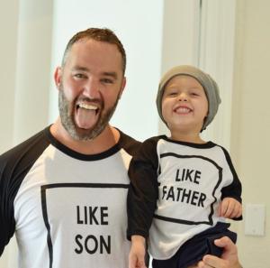Like Father,Like son.