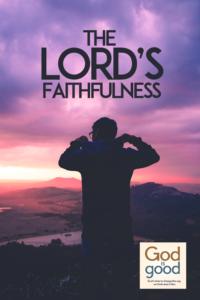 Judge God Faithful