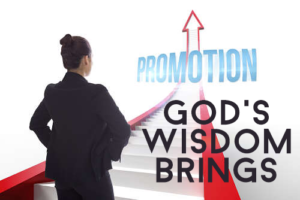 God's Wisdom Brings Promotion