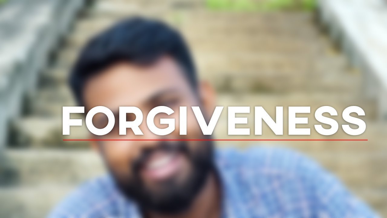 How do you forgive?